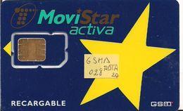TARJETA GSMA 028 MOVISTAR  MUY ANTIGUA - Spain