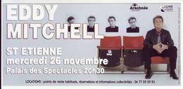 - Flyer - Eddy Mitchell - Palais Des Spectacles De St Etienne - - Music & Instruments