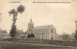 EGLISE DE SAINT GERMAIN LA BLANCHE HERBE - France