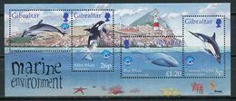 Gibraltar 1998 / Sea Mammals Dolphins MNH Delfines Delfine / Cu6436  32 - Delfines