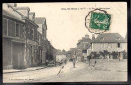 SAINT MEEN 35 - La Rue De Merdrignac - Other Municipalities