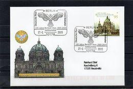 """Deutschland, 2005, Brief (echt Gelaufen) Mit Michel 2446 Und Sonderstempel, """"100 J. Berliner Dom"""" - Brieven En Documenten"""