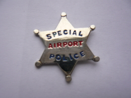 Pin S Etoile Sheriff Police  Neuf - Police