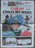 L'Equipe Du 17/2/2006 - Florence Baverel - P.H De Le Rue - Tours - Blayau - Lyon - Newspapers