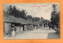Colombo Ceylon Sri Lanka 1905 Postcard - Sri Lanka (Ceylon)