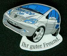 SO Pin Mercedes - Mercedes Benz - Service 24h Ihr Guter Freund - Mercedes
