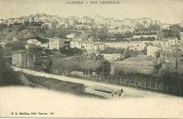 Cagnes Vue Generale - Cagnes-sur-Mer