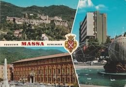 CARTOLINA - POSTCARD - SOUVENIR MASSA REMEMBER - Massa