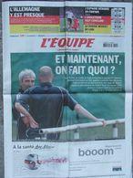 L'Equipe Du 15 Juin 2006 - Mondial De Foot :Avant D'affronter La Corée Du Sud - Newspapers