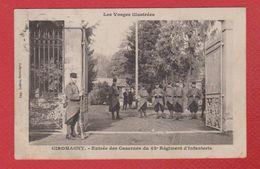 Giromagny  -  Entrée Descasernes Du 42 E Rég D Inf - Giromagny