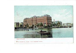Cpa - Amsterdam - AMSTEL-HOTEL - Dr Trenkler 23531 - Bateau Péniche - 1905 - Amsterdam