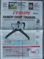 L'Equipe Du 15 Fév. 2006 - Joubert - Eydelie - Poirée - Montillet - Foot : OM - Newspapers