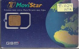 TARJETA GSMT 024 MOVISTAR  MUY ANTIGUA - Espagne