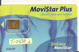 TARJETA GSMT 043/1 MOVISTAR  MUY ANTIGUA BAILARINAS - Spain