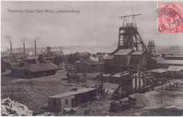 Afrique Du Sud – Robinson Deep Gold Mine, Johannesburg - Afrique Du Sud