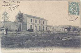 Algérie – Bossuet – Rue De La Poste (les Feuillets Se Décollent) - Algérie