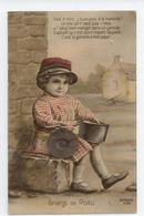 CPA MILITARIA PROPAGANDE PATRIOTIQUE ENFANT GRAINE DE POILU LA GAMELLE BE TBE - War 1914-18