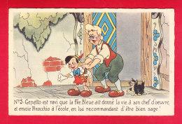 Disney-76D01  Pinocchio N° 5 Gepetto - Disney