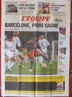 L'Equipe Du 27 Avril 2006 - Barcelone En Finale - Loeb - August - Zidane - Newspapers