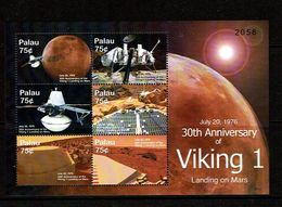 Palau 2006 Sc # Bf 861  MNH **  Viking 1 Landing On Mars - Space