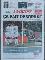 L'Equipe Du 2 Mars 2006 - France-Slovaquie - Szarzewski - Bourges - Le Graët - Newspapers