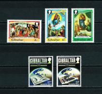 Gibraltar  Nº Yvert  480/2-483/4  En Nuevo - Gibraltar
