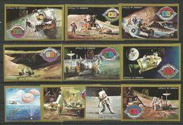 UMM AL QIWAIN - MNH - Space - Apollo 15 Mission - Imperf. - Overprint - Espace