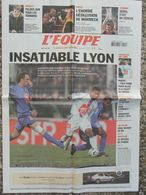 L'Equipe Du 9 Janv. 2006 - Lyon - Pelous - Mormeck - Serra - Ribéry - Vidal - Poirée - Newspapers