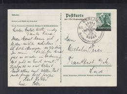 Dt. Reich Bild-PK 1939 Sonderstempel Heimkehr Der Legion Condor - Storia Postale