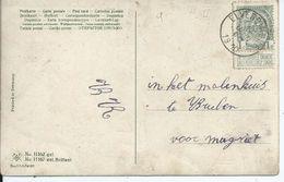 Fantasiekaart Met OCB 81 - Afstempeling ELVERDINGHE - COBA 8 - 1893-1907 Wapenschild