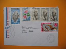 Lettre République Du Dahomey - Cotonou Aéroport 17/5/1976    Pour La France - Benin - Dahomey (1960-...)