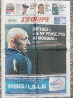 L'Equipe Du 11 Avril 2006 - Barthez - Cancellara - Benoît Baby - Mickelson - Newspapers