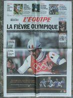 L'Equipe Du 11 Fév .2006 - JO De Turin - France-Irlande - CAN - Kens - - Newspapers