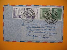 Lettre  Chili Janvier 1959    Pour La France - Chile