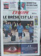 L'Equipe Du 7 Juin 2006 - Federer - Benneteau - Hingis - Thuram - Préparation - Newspapers