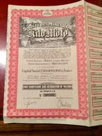 Sté   Des  MINES  D' OR  De  KILO - MOTO  -----------   Part  Bénéficiaire  Sans  Désignation  De  Valeur - Miniere