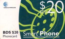 TARJETA TELEFONICA DE BARBADOS. (002) CHIP. - Barbados