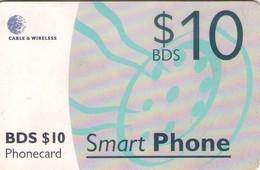 TARJETA TELEFONICA DE BARBADOS. (001) CHIP. - Barbados