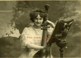Violoncelliste Violoncelle à 7 Cordes Vers 1910 Par F. Barco à Nancy - Photos