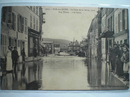 Bar Sur Seine  1910  Rue Thiers Les Ponts - Bar-sur-Seine