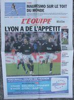 L'Equipe Du 21 Mars 2006 - Mauresmo - Lyon - Zidane - Jauzion - Leisel Jones - Newspapers