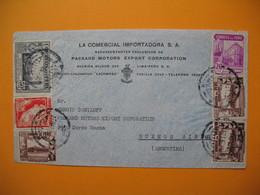 """Lettre Lima Pérou """" La Comercial Importadora S.A. Packard Motors Export Coporation """" 1939 - Pérou"""