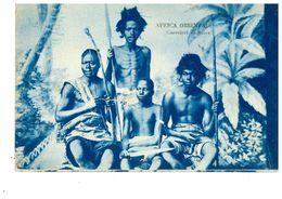AFRICA ORIENTALE GUERRIERI CUNAMA - Cartoline