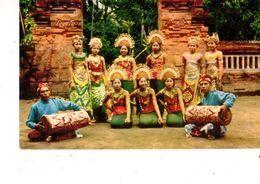 ASIE----INDONESIE-- Penari2 Tarian Bali--the Bali Dancers--voir 2 Scans - Indonesia