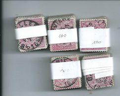 OCB 46 - 5 Bundels (min. 450 Ex.) - 1884-1891 Leopold II