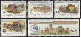 Kingdom Of Lesotho - XX - Michel 478/82  - Cote 2.00 - Ausipex 84 - Lesotho (1966-...)
