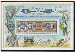 Kingdom Of Lesotho - XX - Michel Bl 22  - Cote 4.20 - Ausipex 84 - Lesotho (1966-...)