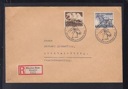 Dt. Reich R-Brief Sonderstempel Alpenpreis 1942 - Storia Postale