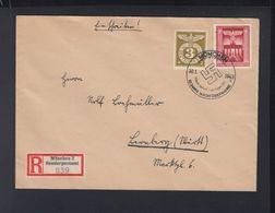 Dt. Reich R-Brief Sonderstempel 10 Jahre Machtübernahme 1943 - Briefe U. Dokumente