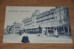 644- Blankenberghe, Digue De Mer / 1909 - Blankenberge